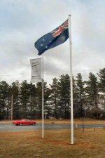 8m aluminium flagpole